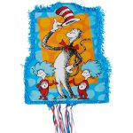 Pull String Cat in the Hat Pinata - Dr. Seuss