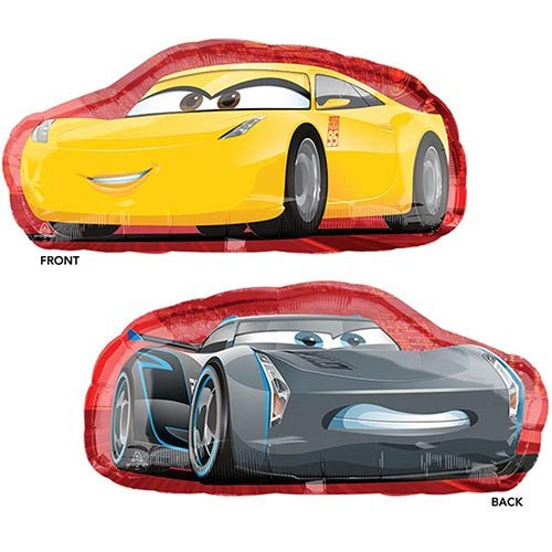 Cars 3 Cruz Jackson Shape Foil Balloon