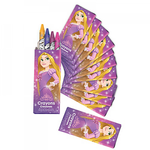 Tangled Rapunzel Crayon Boxes