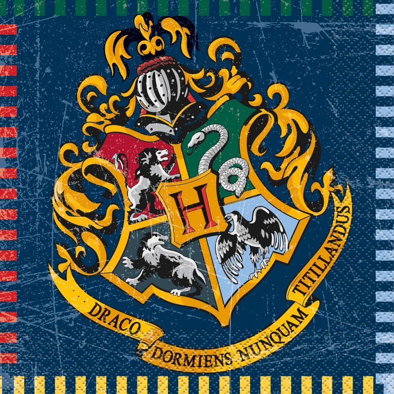 Harry Potter Lunch Napkins 16ct