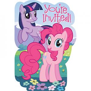 My Little Pony Invitations 8ct