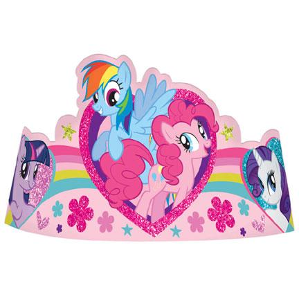 My Little Pony Tiaras 8ct