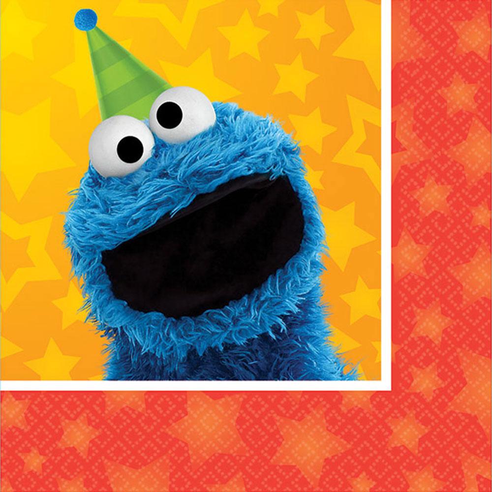Sesame Street Beverage Napkin