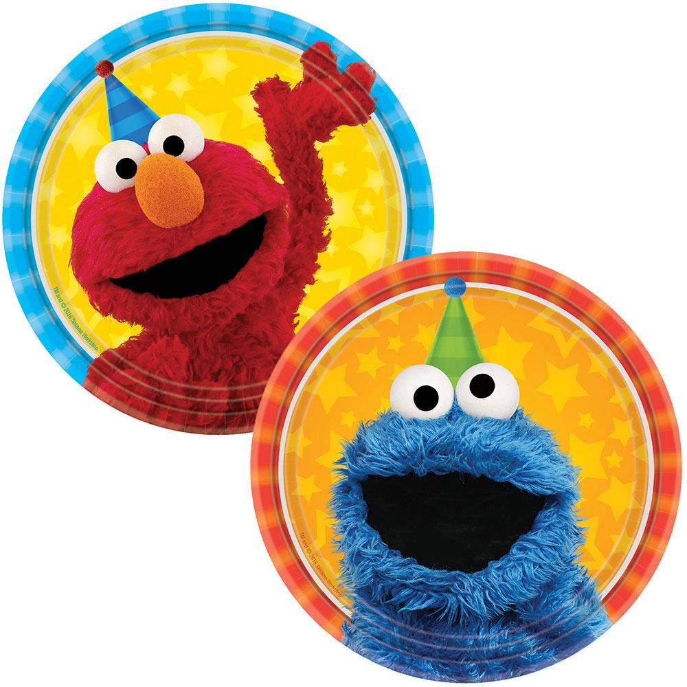 Sesame Street Cake Plate