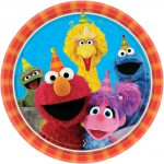Sesame Street Lunch Plate