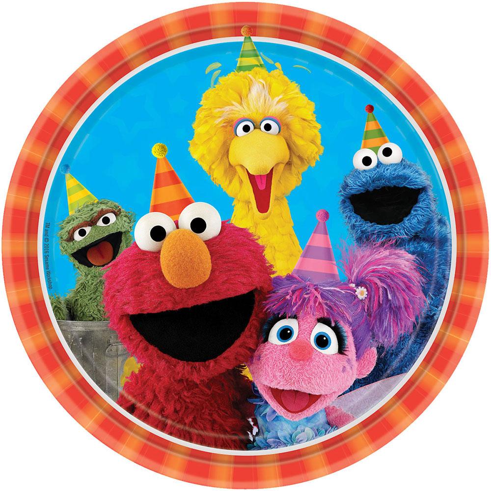 Sesame Street Lunch Plate