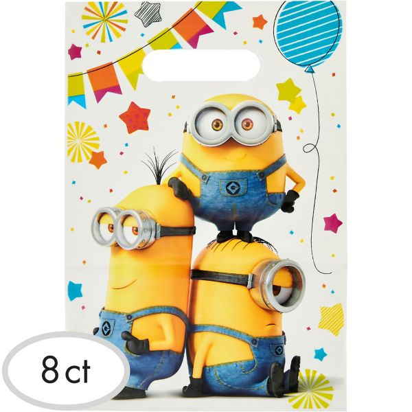 Minions Favor Bags 8ct