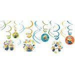 Minions Swirl Decorations