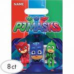 PJ Masks Favor Bags 8ct
