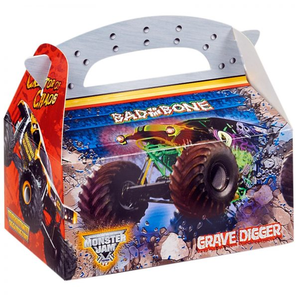 Monster Jam Empty Favor Box