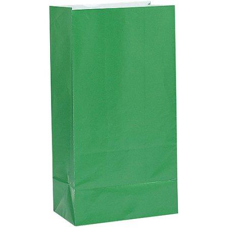 Green Favor Bags