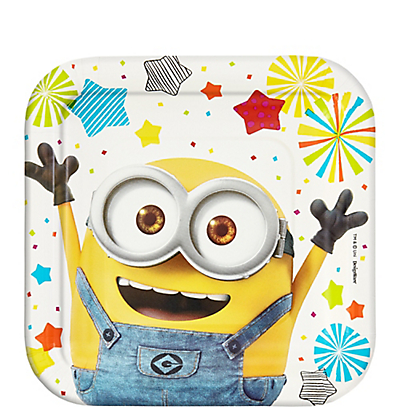 Minions paper Dessert Plates  sc 1 st  This Party Started & Minions Dessert Plates 8ct | Minions Party Supplies | This Party Started