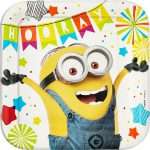 Minions Lunch Plates