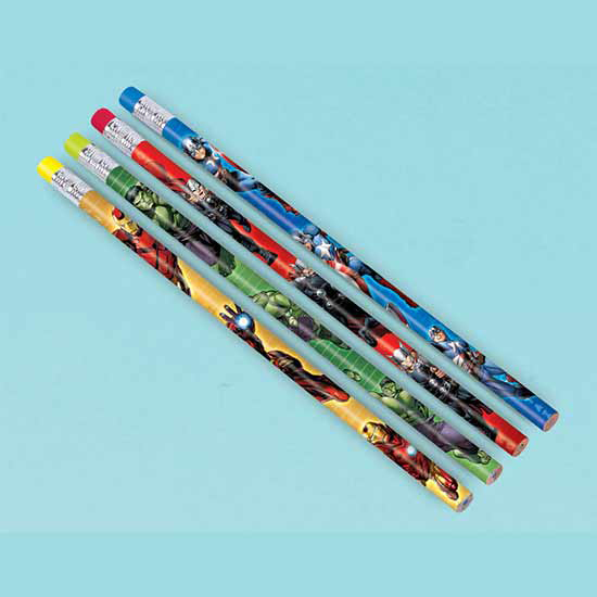 AVENGERS PENCIL FAVORS