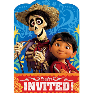 Disney Coco Invitations