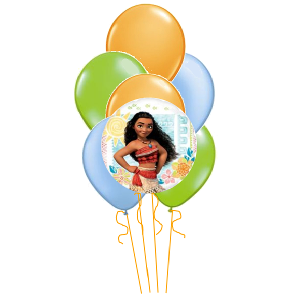 Moana Balloon Arrangement