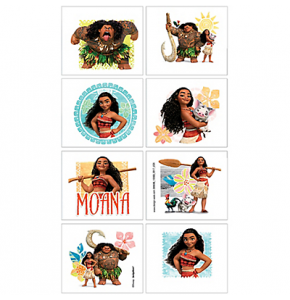 Moana Temporary Tattoos