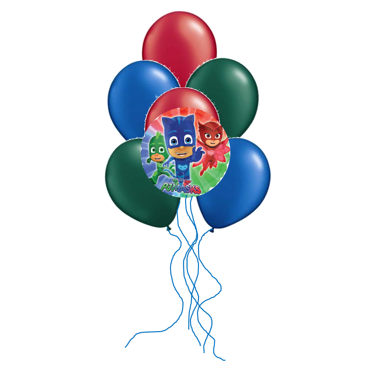 PJ Masks Balloon Arrangement
