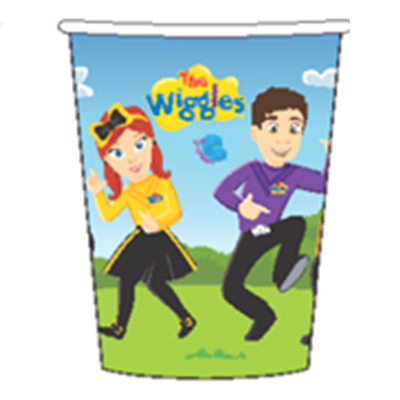Wiggles Cups Paper