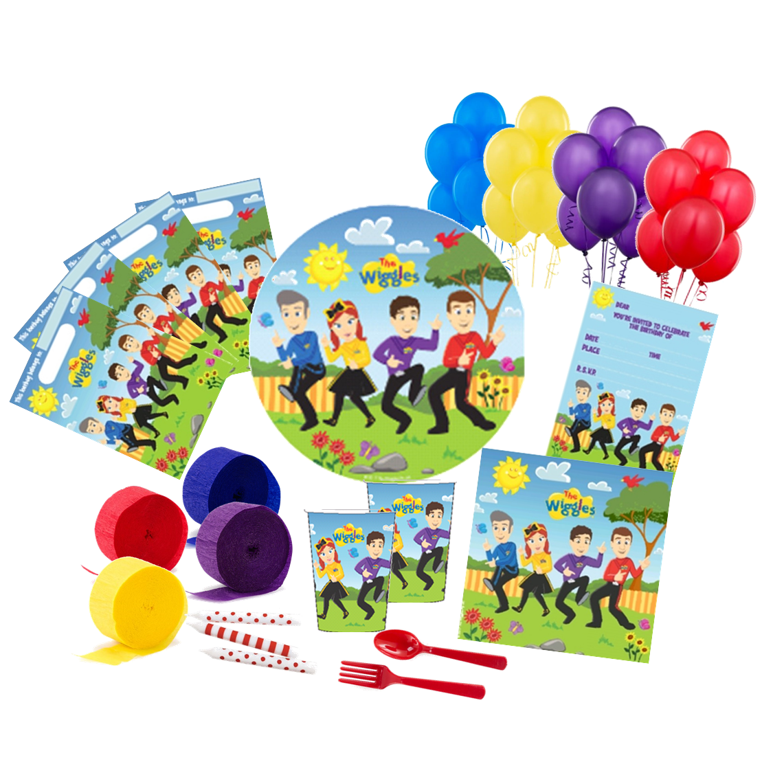 Wiggles Deluxe Party Pack