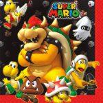Super Mario Bros. Lunch Napkins