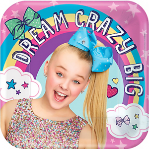 JoJo Siwa Lunch Plates