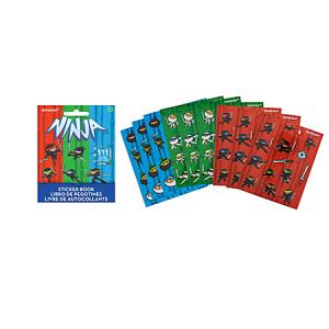 Ninja Sticker Sheets