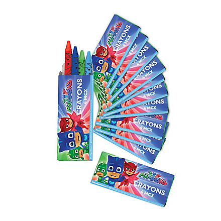 PJ Masks Favor Crayons