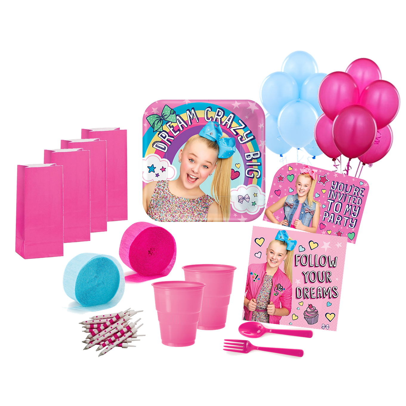 424da6d9c47 JoJo Siwa Deluxe Party Pack