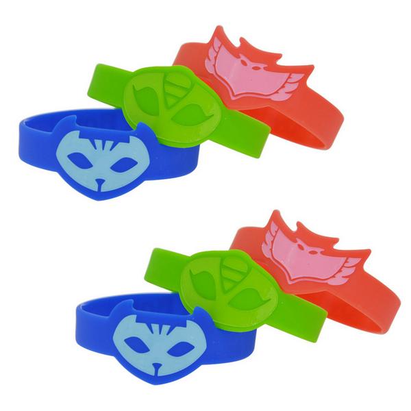 PJ Masks Rubber Bracelets