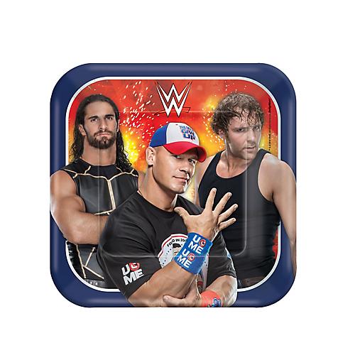 WWE Cake Plates