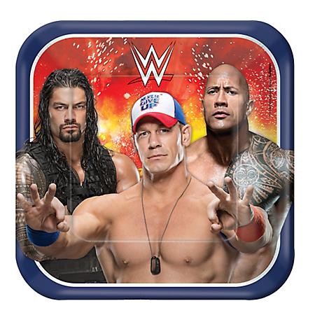 WWE Wrestling Dinner Plates