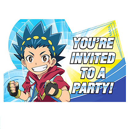 Beyblade Invites