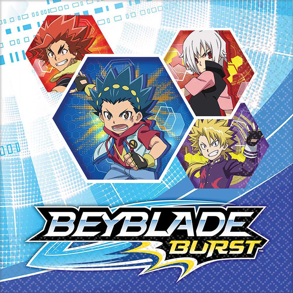 Beyblade Lunch Napkins