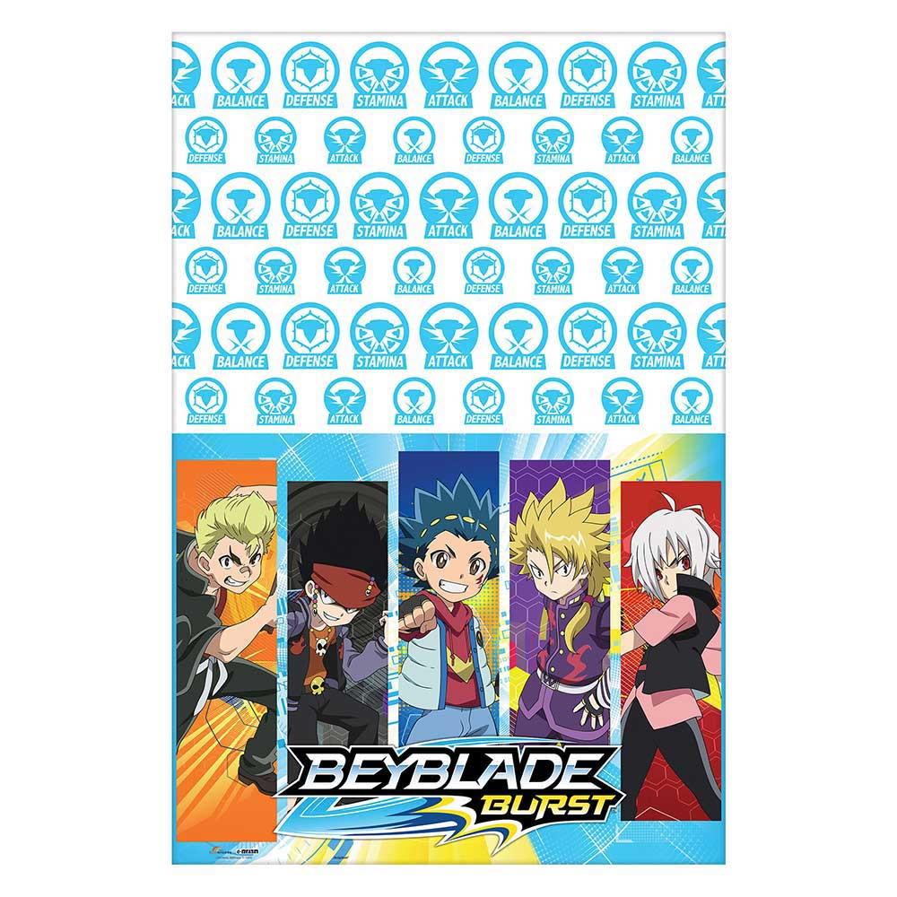 Beyblade Plastic Table Cover