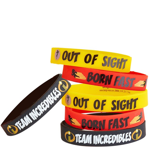 The Incredibles 2 Wristbands 6ct