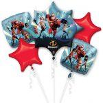 Incredibles Balloon Bouquet