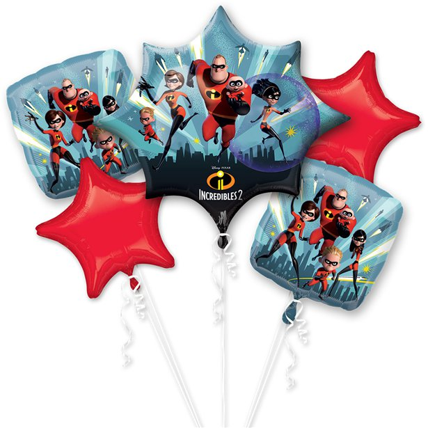 Incredibles Balloon Bouquet