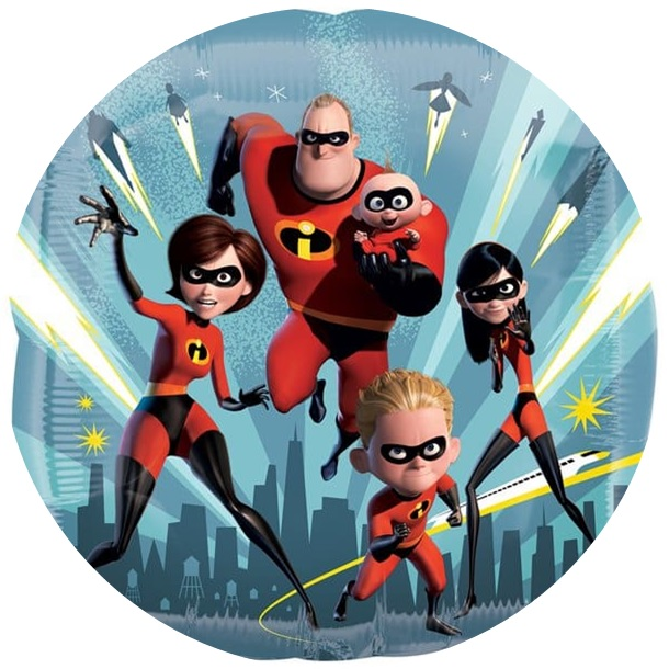 Incredibles 2 Cake Image