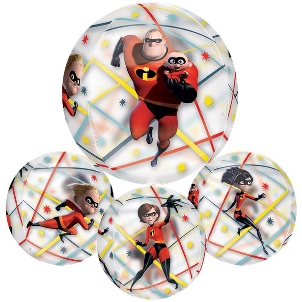 Incredibles 2 Orbz Balloon 16in