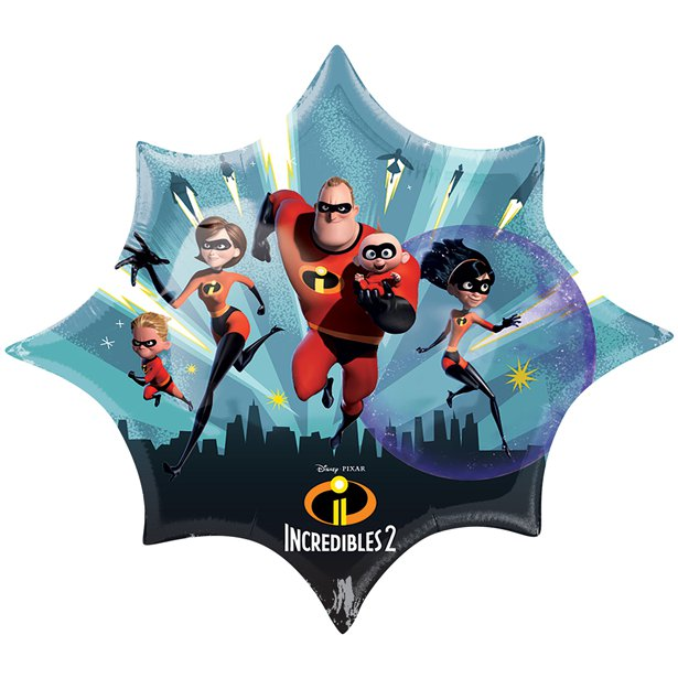 Incredibles 2 Supershape Foil Balloon