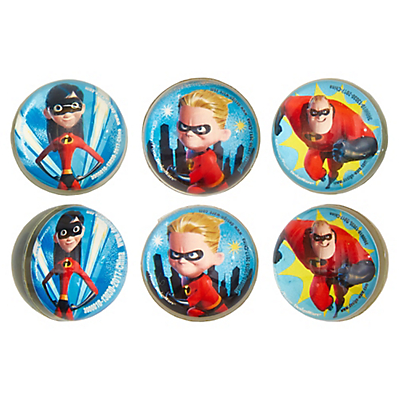 Incredibles Rubber Balls