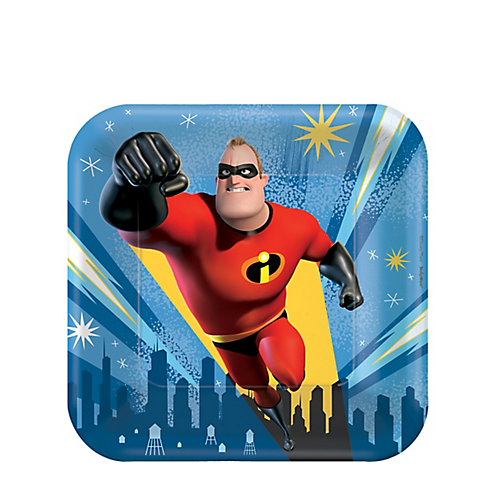 The Incredibles 2 Cake Plates