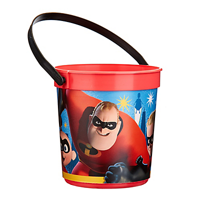 The Incredibles 2 Plastic Favor Bucket