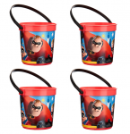 The Incredibles Plastic Favor Buckets
