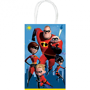 The Incredibles Paper Favor Bags