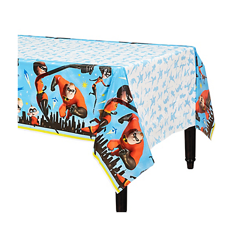 The Incredibles 2 Plastic Table Cover