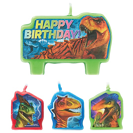Jurassic World Candles