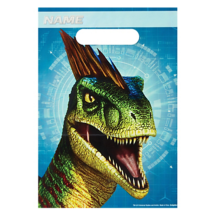 Jurassic World Plasti Lolly Bags