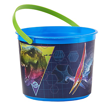 Jurassic World Plastic Bucket